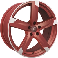 01RZ RACING RED MATT POLISHED
